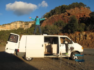 cheap campervan rental in Spain